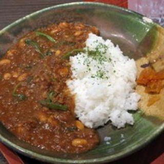 豆と野菜のカレー(ゆめどの )