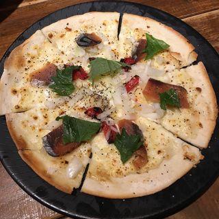 へしこピザ(四十八漁場 渋谷桜丘店)