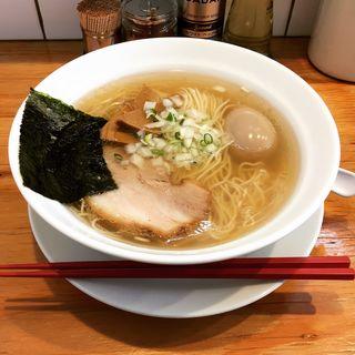 白醤油らーめん(小)(らーめん みき屋 )