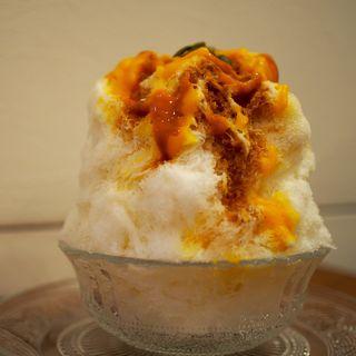 キャラメルかぼちゃクリーム(がるる氷 (GARuRu KO-RI))
