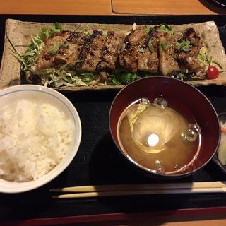 豚肉の味噌焼き(銀のすず )