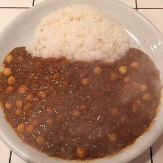 ビーンズマサラカレー(チャナ豆+レンズ豆)(Curry House チリチリ )