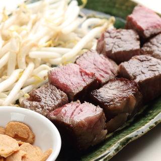和牛のサイコロステーキ(いしがき )
