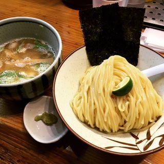 塩つけ麺(銀座 朧月 (おぼろづき))