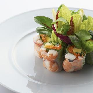 海老と野菜の生春巻き(コンラッド東京 (CONRAD東京))