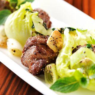 豚肉の炒め物(中国料理 「チャイナブルー」 コンラッド東京 )