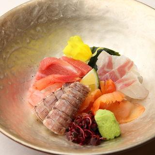 鮮魚のお造り(寿司日向)