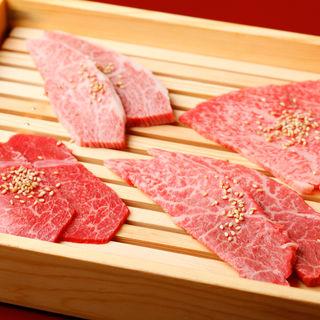 肉の盛り合わせ(焼肉 天 がむしゃら )