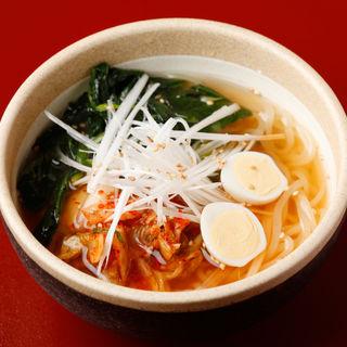 冷麺(焼肉 天 がむしゃら )