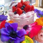 フルオーダーのバースデーケーキ