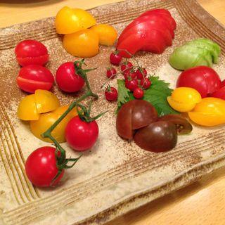 こだわりトマトの盛り合わせ(宗村食堂)