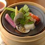 鮮魚と野菜のグリル