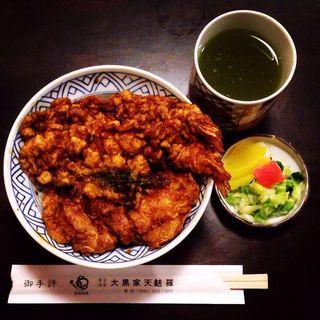 天丼(海老二本、かき揚げ)(大黒家天婦羅 別館 (だいこくやてんぷら))