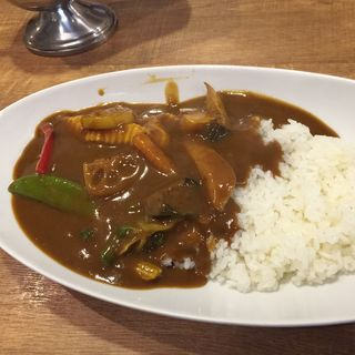 野菜カレー(欧風カレー 小夢 (チャイム))