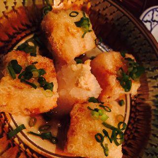 豆腐ようの揚げ出し(そいさぼ)