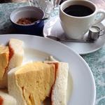 コロナのたまごサンド(喫茶マドラグ )