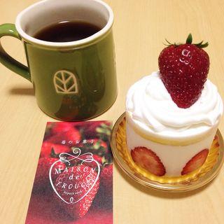 イチゴのショートケーキ(メゾン ド フルージュ (maison de frouge))
