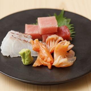 鮮魚の盛り合わせ(鮨みもと (【旧店名】鮨みはち))