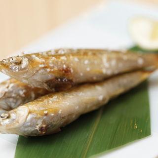 鮮魚の塩焼き(鮨みもと (【旧店名】鮨みはち))