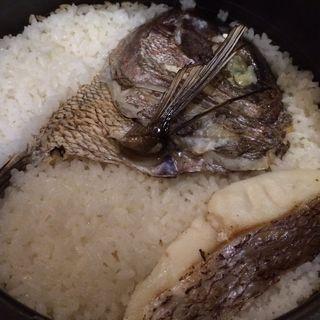 鯛めし(阿久根 魚鈎 )