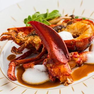 オマール海老のグリル(レストラン ジャンティオジェ )