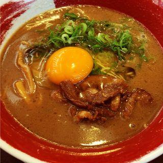 徳島ラーメン かた麺(麺王 追手筋店 )