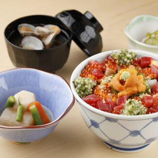 海鮮丼(銀座 鮨正 )