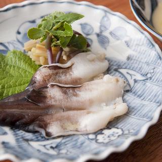 ホッキ貝のお造り(麻布淺井 )