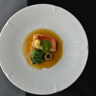 金目鯛の煮付け(割烹 樹 (カッポウ イツキ))