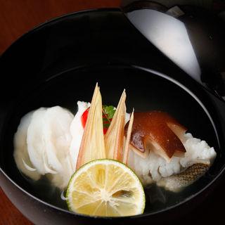 鱧の湯引き(くろす )