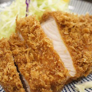 ロースカツランチ定食(とんかつ大門 檍 (トンカツダイモン あおき))