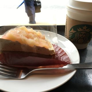 ピーチ&アールグレイタルト(スターバックス・コーヒー 銀座マロニエ通り店 (Starbucks Coffee))