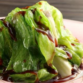 豚肉のチンゲン菜炒め(割烹 久田 (ひさだ))