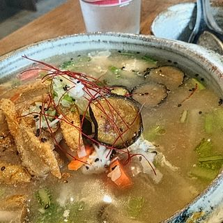 玄米リゾット(鶏ガラスープ)