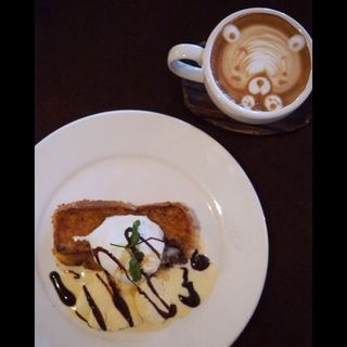 フレンチトーストセット(cafe tsukikoya)