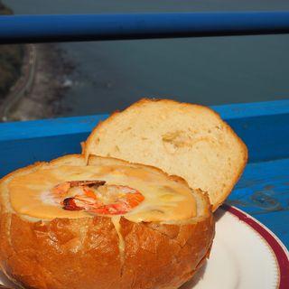パンケースの魚介グラタン(サドルバック (SADDLE BACK))