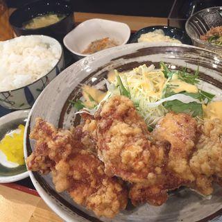 もも唐揚げ定食(とりの 浅香山駅前店 )