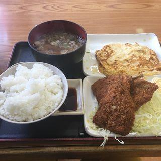 だし巻き魚フライ定食(にしな)