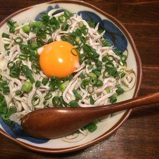 気仙沼産釜揚げシラス丼(気仙沼食堂 )