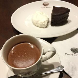 チョコレートパフェ(ピエールマルコリーニ銀座店)