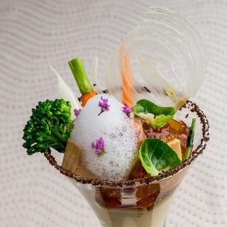 野菜のカクテル仕立て(リバースイート大阪 (River Suite OSAKA))