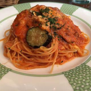 モツァレラと茄子のトマトソース(IGGY (イッギー))