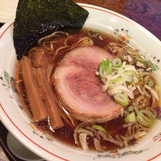 イベリコ豚炙りチャーシューメン 醤油(中華そば 一楽 )