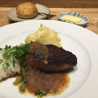 ハンバーグランチ(洋食 おがた )