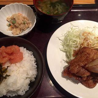 豚の生姜焼き(やまや 梅田店 )