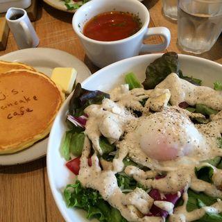 パンケーキセットC(J.S.pancake cafe)