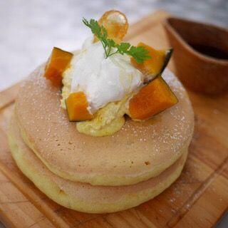 カボチャのパンケーキ(嵯峨野湯 (サガノユ SAGANO-YU))