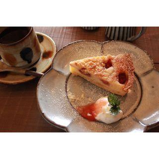苺のクランブルタルト(キャリー焼菓子店 )