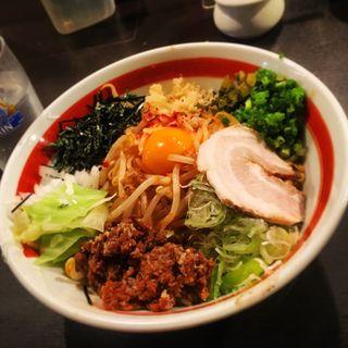 まぜそば(極太麺)(響 (ひびき))