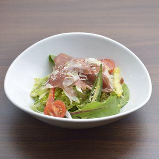 生ハム 野菜(神戸鉄板ダイニング ネグローニ)